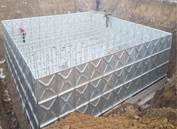 steel water tank manufacturer - galvanized sectional steel water tank